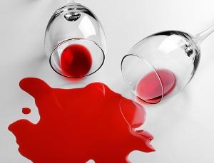 ワインのシミもお任せ下さい